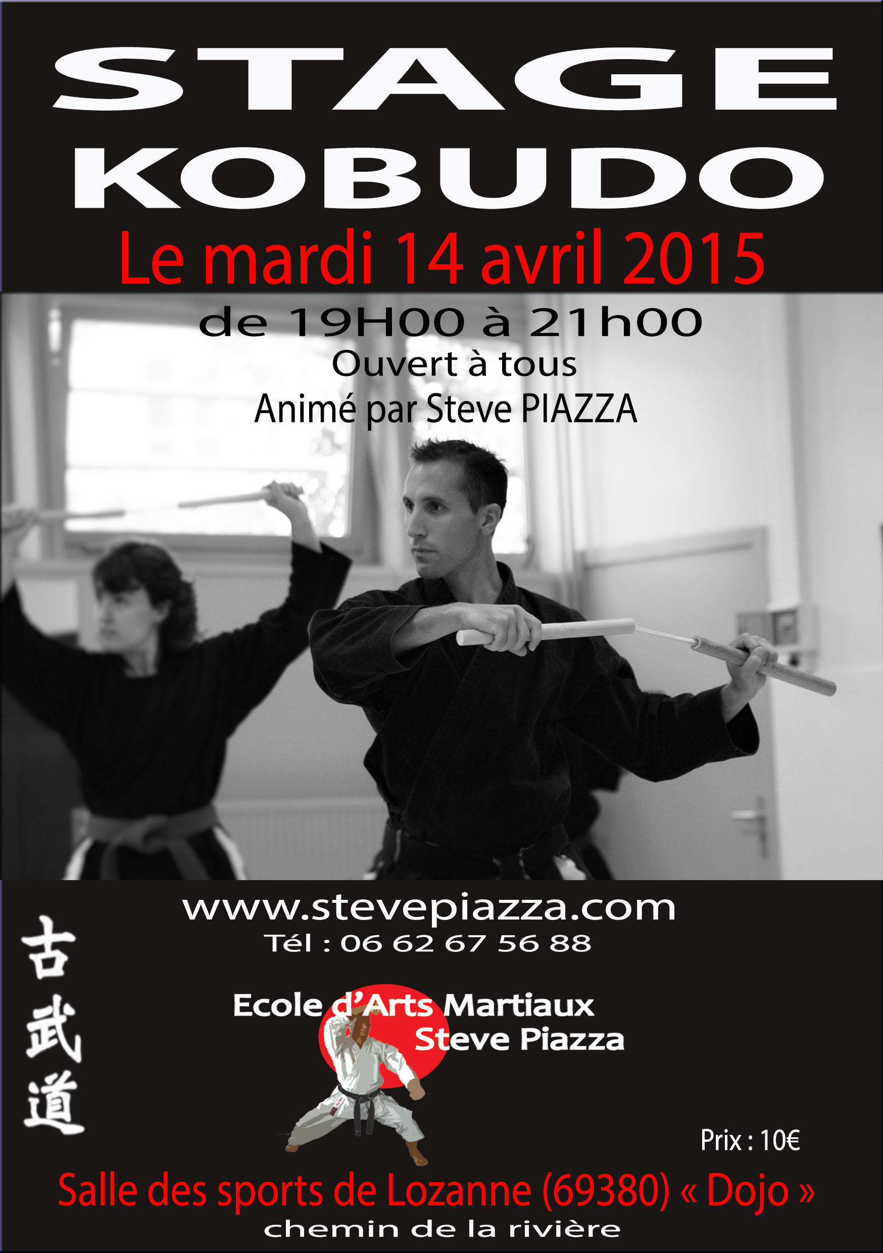 Stage Kobudo avril 2015