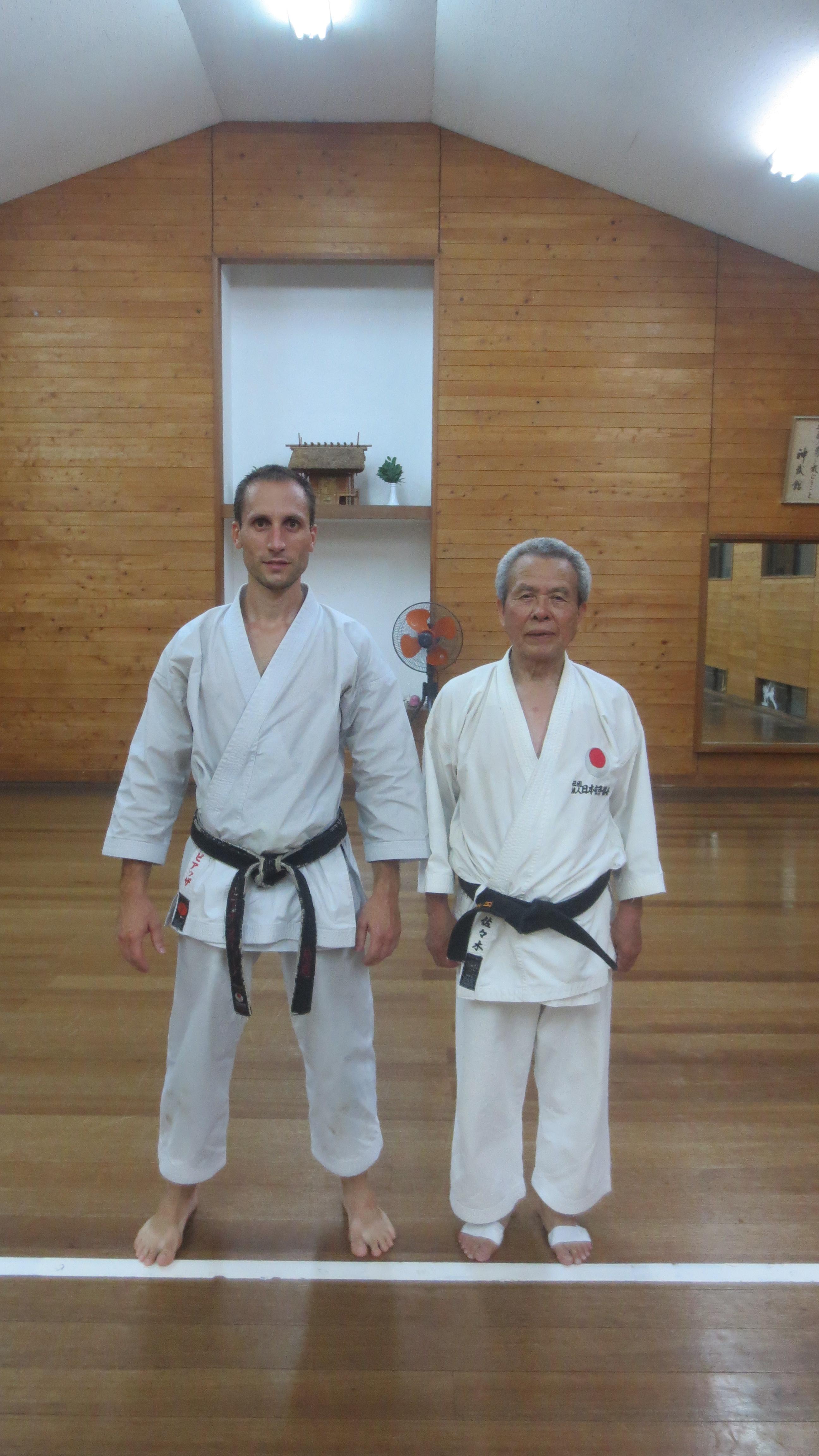 Steve Piazza Japon 2015 jka karate
