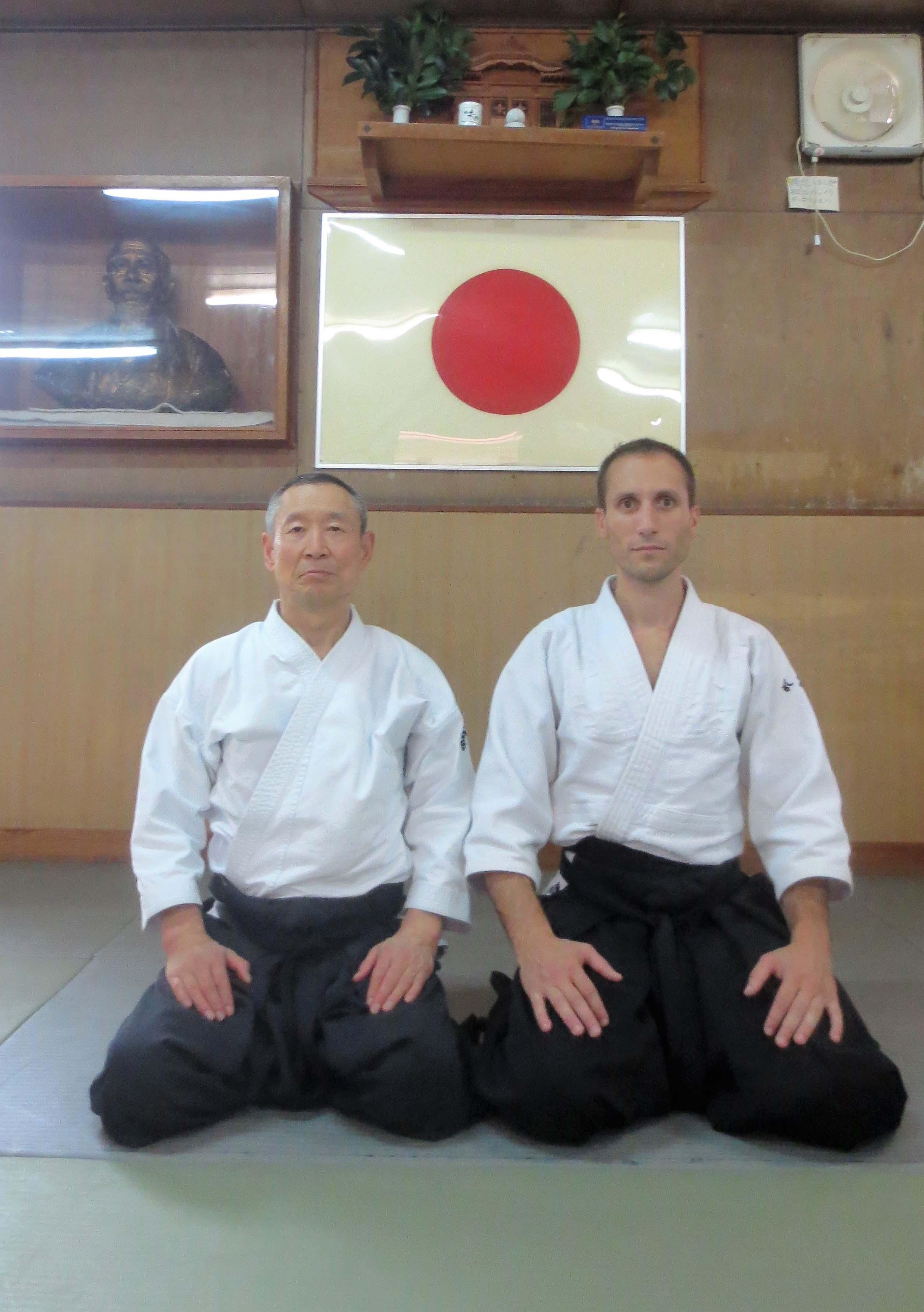 Suganuma Senseï et Steve Piazza