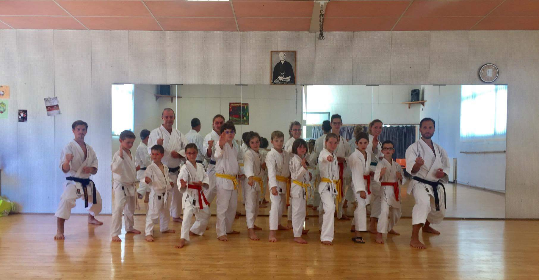 club de karate 69210