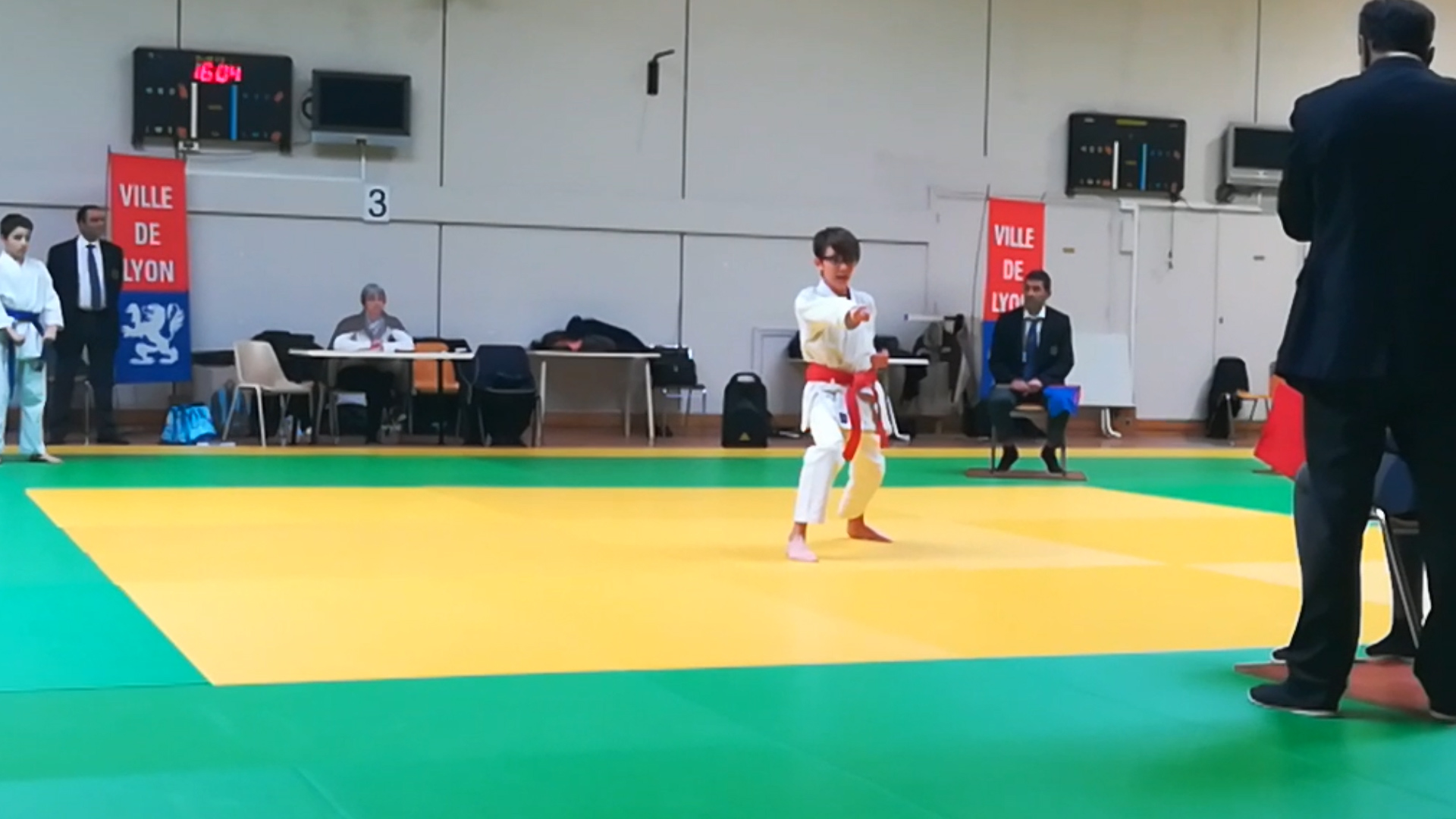 Karaté Lozanne en compétition