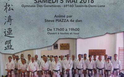 Stage Jks France Tassin 5 mai 2018