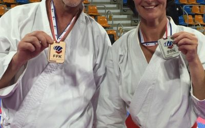 3 Podiums au Championnat de France Karaté pour Tassin Ecole d'Arts Martiaux