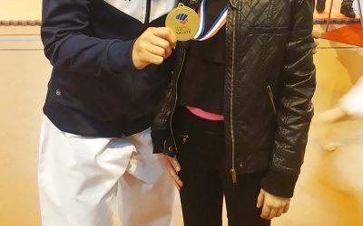 Eva Piazza Championne de l'open de Ligue Kata 2019