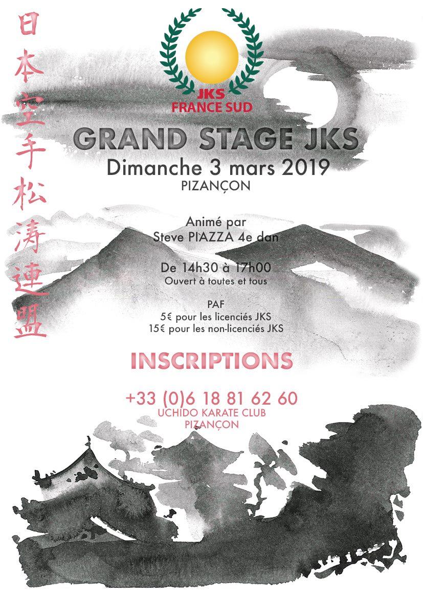 Stage Karaté Jks mars 2019