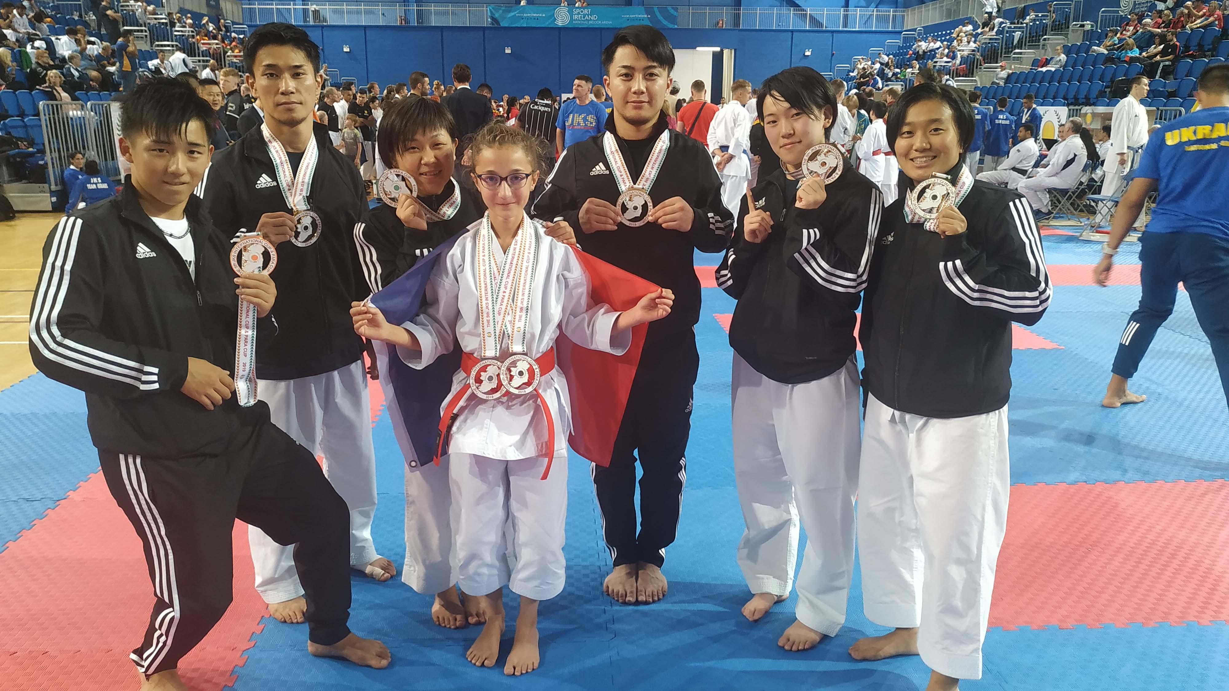 Deux médailles de Bronze pour Eva PIAZZA à la Coupe Internationale JKS