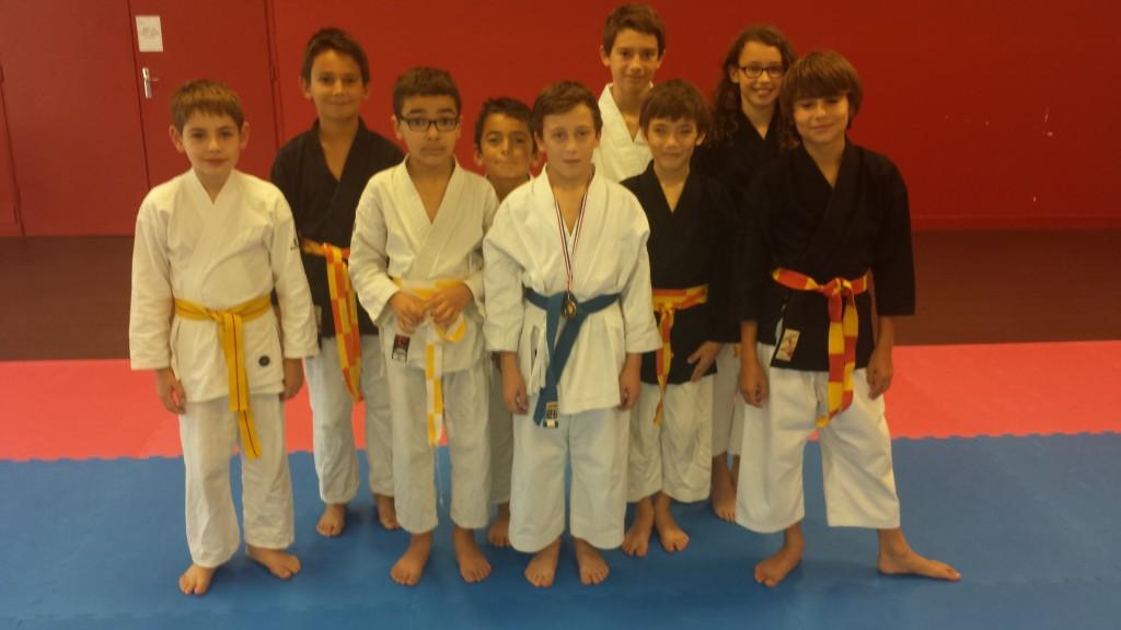 Nos jeunes Karatéka Lozannais