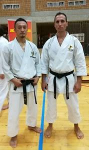 Yamaguchi Sensei et Steve Piazza